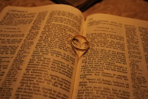 Bible and ring