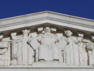 Moses, US Supreme Court, God's promises and commandments