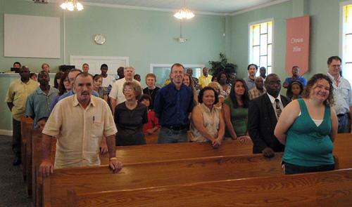 Worship service--sanctification