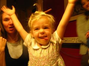 Nan rejoicing