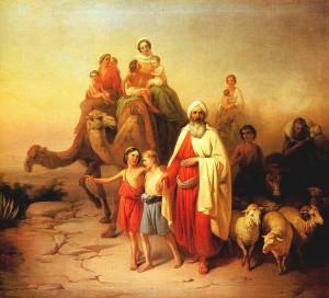 Abraham's Departure / Molnár