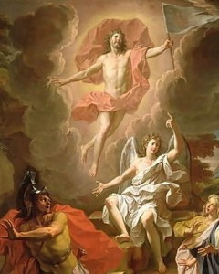The Resurrection of Christ / Noel Coypel, 1700