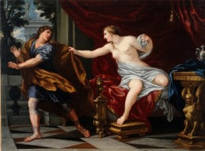 Joseph and Potiphar's Wife / Bartolomé Esteban Perez Murillo (1660s)