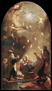Pentecost / Mildorfer. God gives gifts