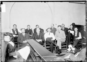 A jury in 1906
