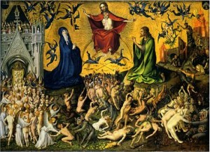 Last Judgment / Lochner Jesus' return second coming of Christ