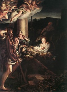 Nativity / Correggio