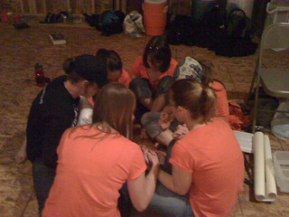 group prayer -- doubt and unbelief
