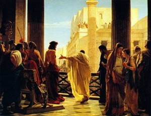 Jesus' humility