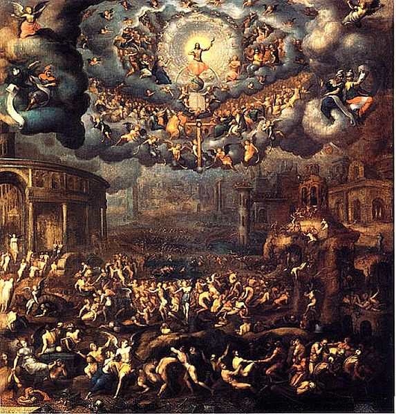 Last judgment, God gives gifts, heaven or hell