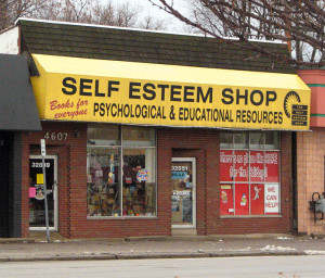 Self esteem shop. humility. Philippians 2:3
