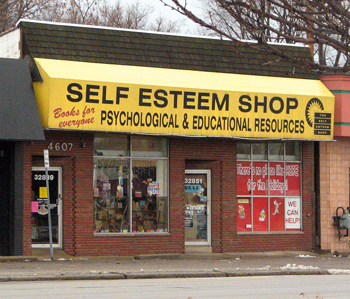 Self esteem shop