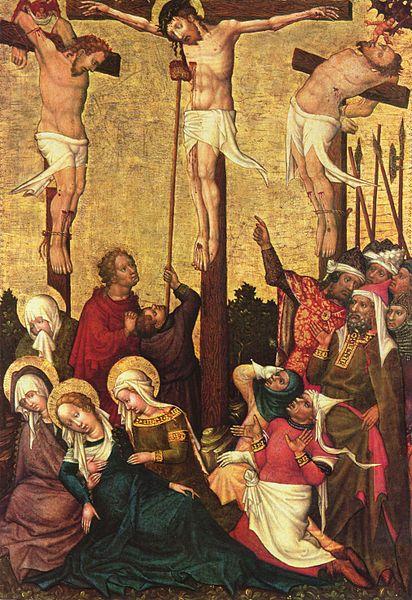 Crucifixion by Hans von Tübingen. humility