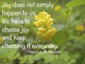 Joy quotation