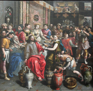 The Marriage at Cana / Marten de Vos, ca. 1596