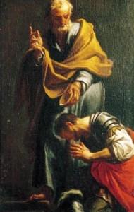 Cornelius' baptism