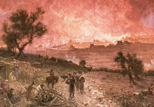 destruction of jerusalem by nebuchadnezzar/. sin of self-sufficiency