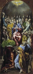 Pentecost, holiness of God