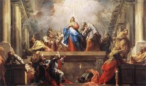 Pentecost / Restout