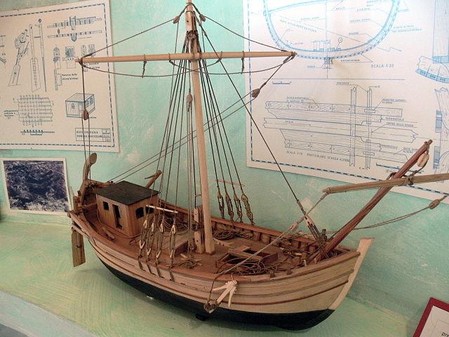 Roman ship model. Acts 27
