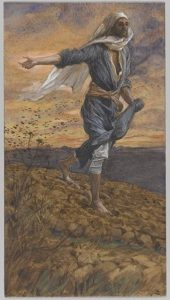 The sower / Tissot. Isaiah 28:23-29